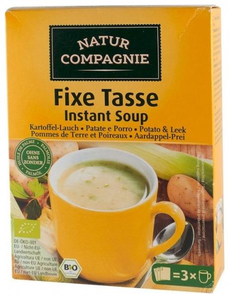 Supa bio instant de cartofi cu praz, 60g 0