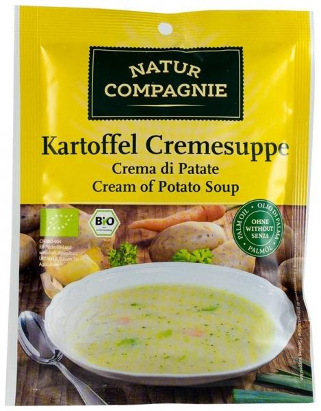 Supa crema de cartofi, bio, 48g 0