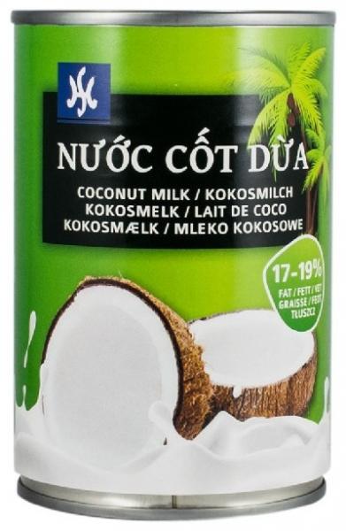 NU`OC COT DUA – Lapte de cocos 17-19% grasime, 400ml 0