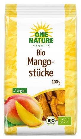 Mango bucati uscate bio, 100g [0]