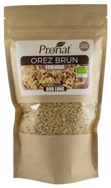 Orez brun bio, bob lung 350g 0