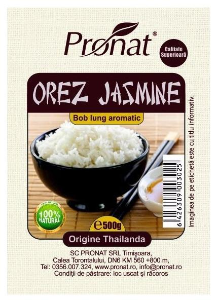 Orez Thailandez Jasmine, bob lung aromatic - 500g 0
