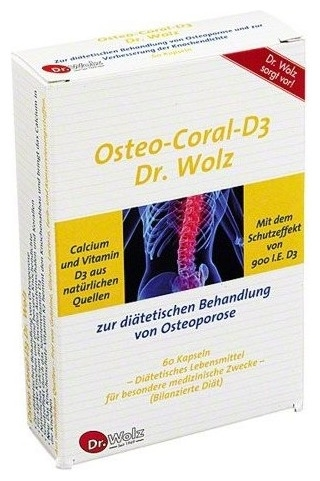 Osteo-Coral-D3 Dr. Wolz   60 cp [0]