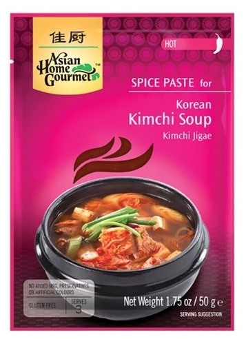Pasta condimentata pentru supa coreana Kimchi, 50 g 0
