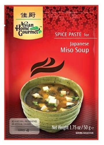 Pasta condimentata pentru supa japoneza Miso, 50 g 0