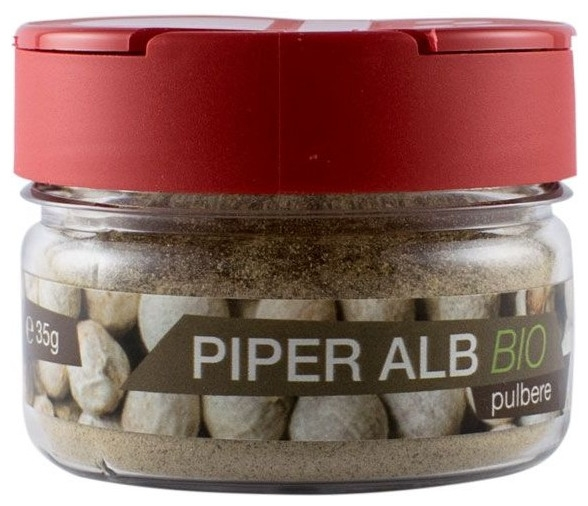 Piper alb Bio pulbere , 35 g