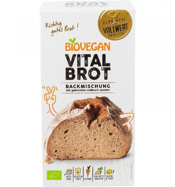Premix bio pentru paine Vital, fara gluten, 315g 0