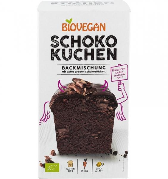Premix bio pentru prajitura cu ciocolata, 380g 0