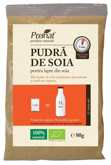 Pudra de soia Bio, 80 g [0]