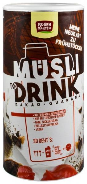 ROSEN GARTEN – Musli Drink BIO cu cacao si guarana, 500g 0