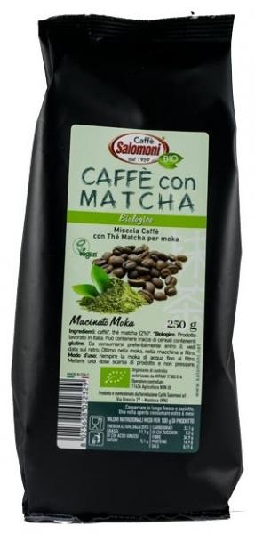 Salomoni - Cafea BIO cu ceai Matcha 250gr 0