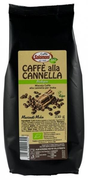 Salomoni - Cafea BIO cu scortisoara 250gr 0