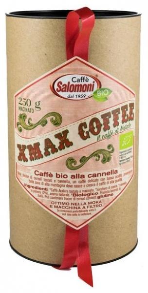 .Salomoni - Cafea bio de Craciun cu scortisoara 250gr Xmax Box 0