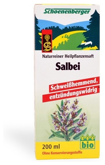 Salvie bio Schoenenberger 200 ml 0