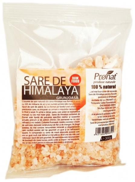 Sare de Himalaya grunjoasa, 300 g 0
