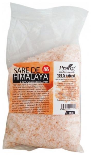 Sare de Himalaya grunjoasa aprox. 3mm, 500 g 0