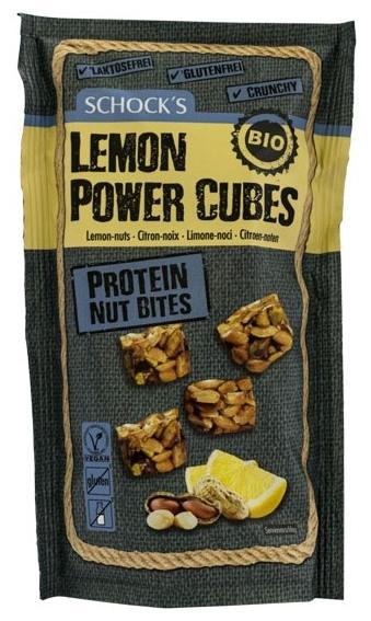 Cubulete bio crocante Lemon Power, 90g [0]