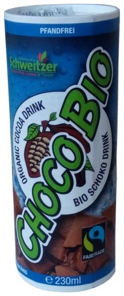 SCHWEITZER REINHARD - Choco Bio Bautura din cacao, 230 ml 0