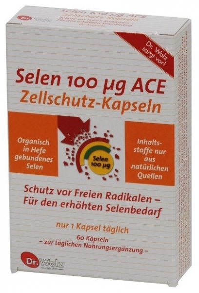 Selen 100 Mg ACE Dr. Wolz 60 cp 0