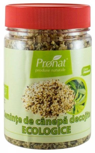 Seminte de canepa decojite, Bio, 150 g 0
