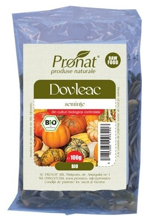 Seminte de dovleac Bio, 100 g