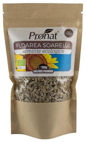 Seminte de floarea soarelui BIO, 150 g, Origine UE [0]