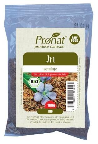 Seminte de in Bio, 100 g [0]