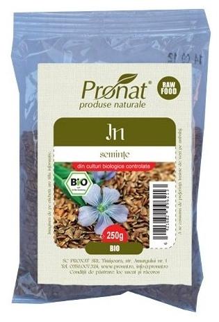 Seminte de in Bio, 250g 0