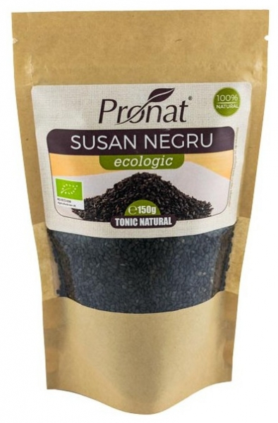 Seminte de susan negru Bio,  150 g 0