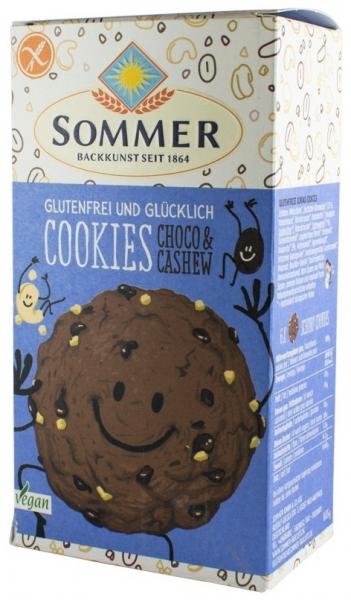 Biscuiti BIO fara gluten cu ciocolata si caju, 125g 0