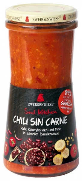 Chili bio fara carne, 420 ml [0]