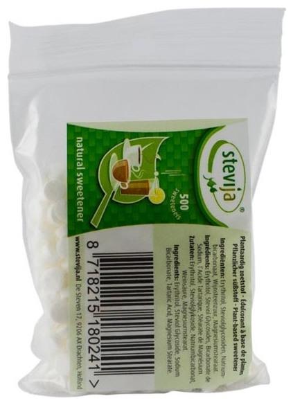 Stevia Indulcitor Natural 500 mini capsule 0