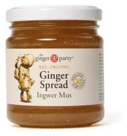 The ginger party - Gem Bio de ghimbir, 240g 0