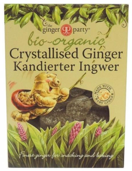 The ginger party - Ghimbir Bio cristalizat, 84g 0