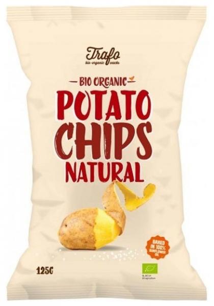 Chipsuri BIO natur, 125 g 0