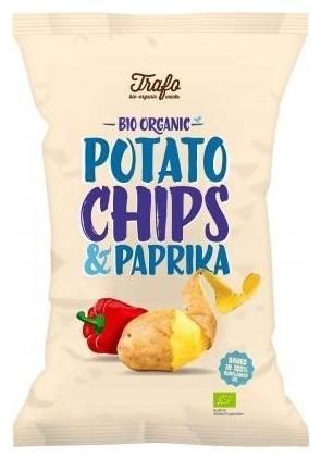 Chipsuri BIO cu paprika, 40 g 0
