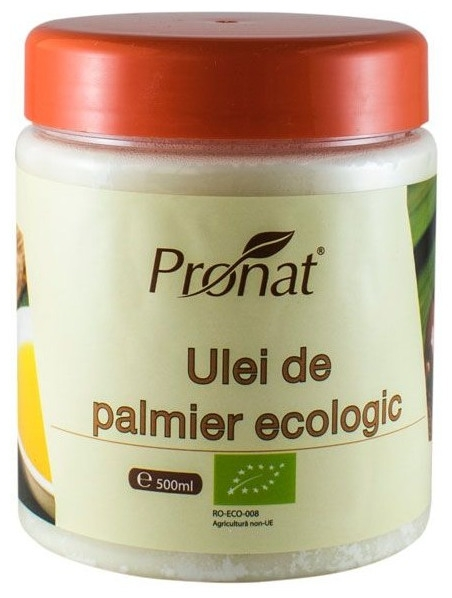 Ulei de palmier Bio, 500 ml 0