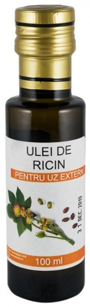 Ulei de ricin pentru uz extern, 100 ml [0]