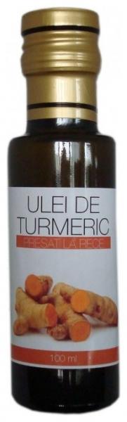Ulei de turmeric (curcuma),  100ml 0