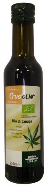 Ulei din canepa Crudolio - 250 ml 0