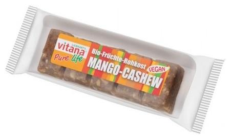 Batoane bio vegan mago-caju, 50 g 0