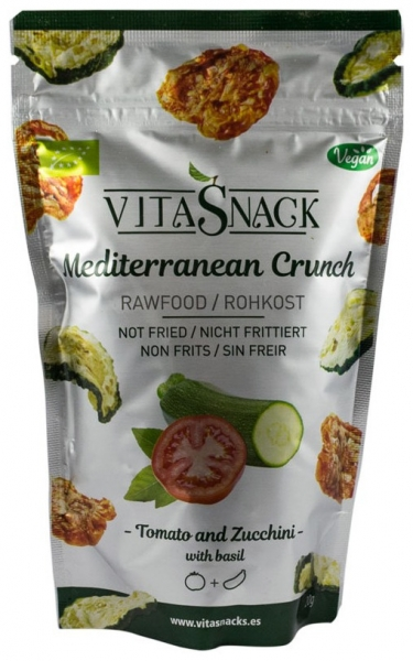 Chipsuri BIO de legume crocante mediteraneene, 20 g 0