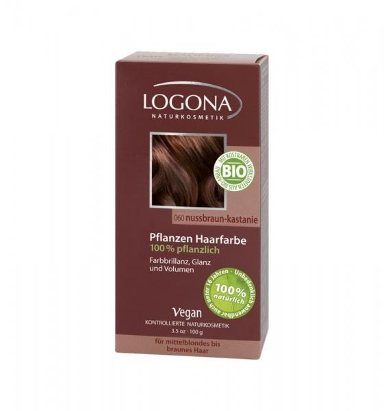 Vopsea de par 100 % naturala – Castaniu, 100 g 0
