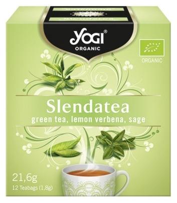 Ceai BIO silueta perfecta cu ceai verde, lamaita si salvie, 12 plicuri - 21,6g 0