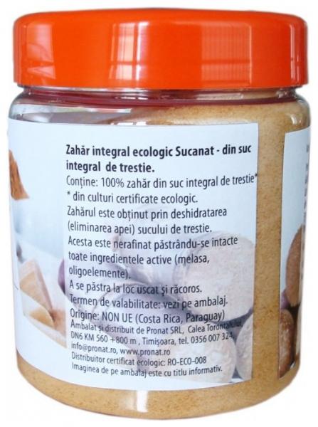 Zahar integral Bio, Sucanat, 350 g 1