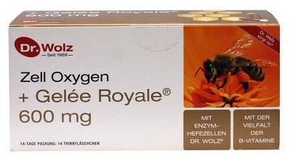 Zell Oxygen® + Gelee Royale 600mg Dr.Wolz 0