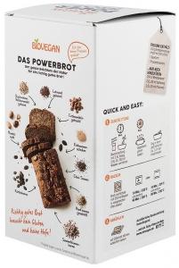 Premix bio pentru paine Power, fara gluten, 350g1