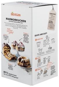 Premix pentru prăjitură bio marmorata cu roscove, 380g1