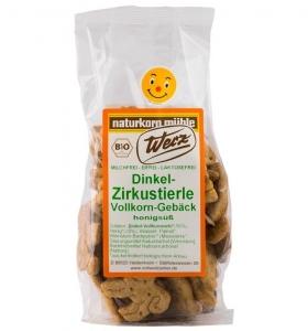 Biscuiti Bio Zoo din alac cu miere, 125 g0