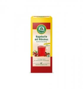 Ceai BIO de măceșe si hibiscus, 20*2,5gr0